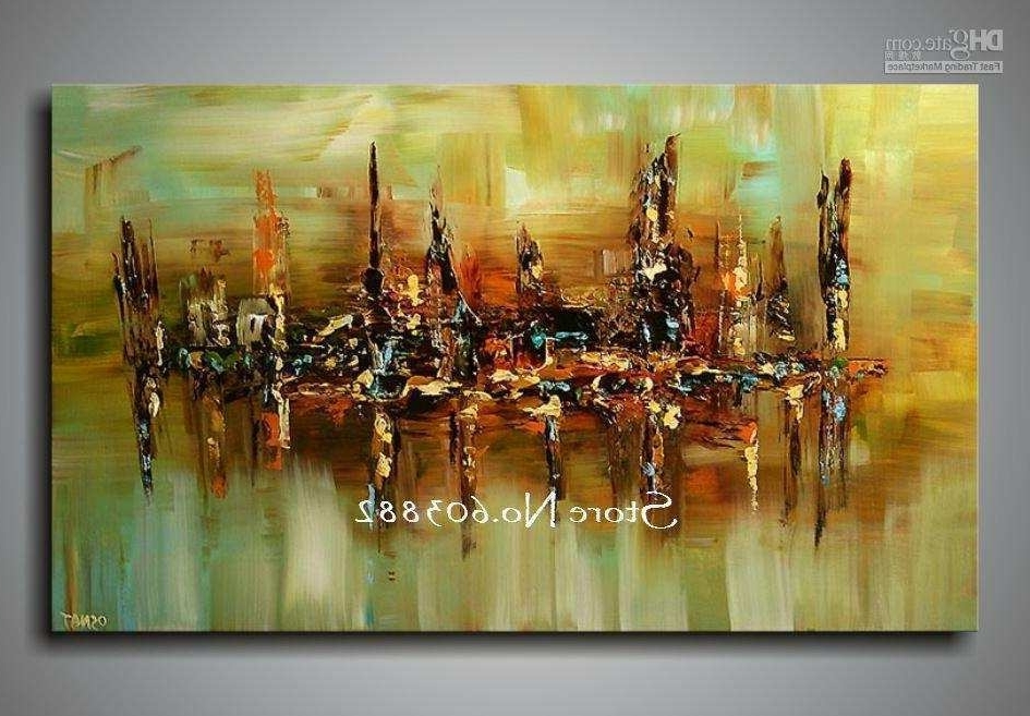 Abstract Wall Art Canvas Throughout Trendy Large Painting Canvas Awesome Wall Art Designs Best 10 Of Large (View 15 of 15)