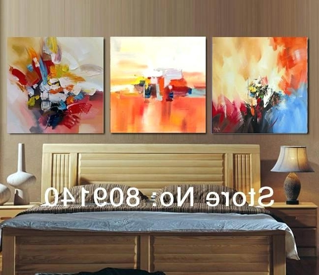Abstract Wall Art For Bedroom In Well Liked Abstract Wall Art For Bedroom – Minimals (View 3 of 15)