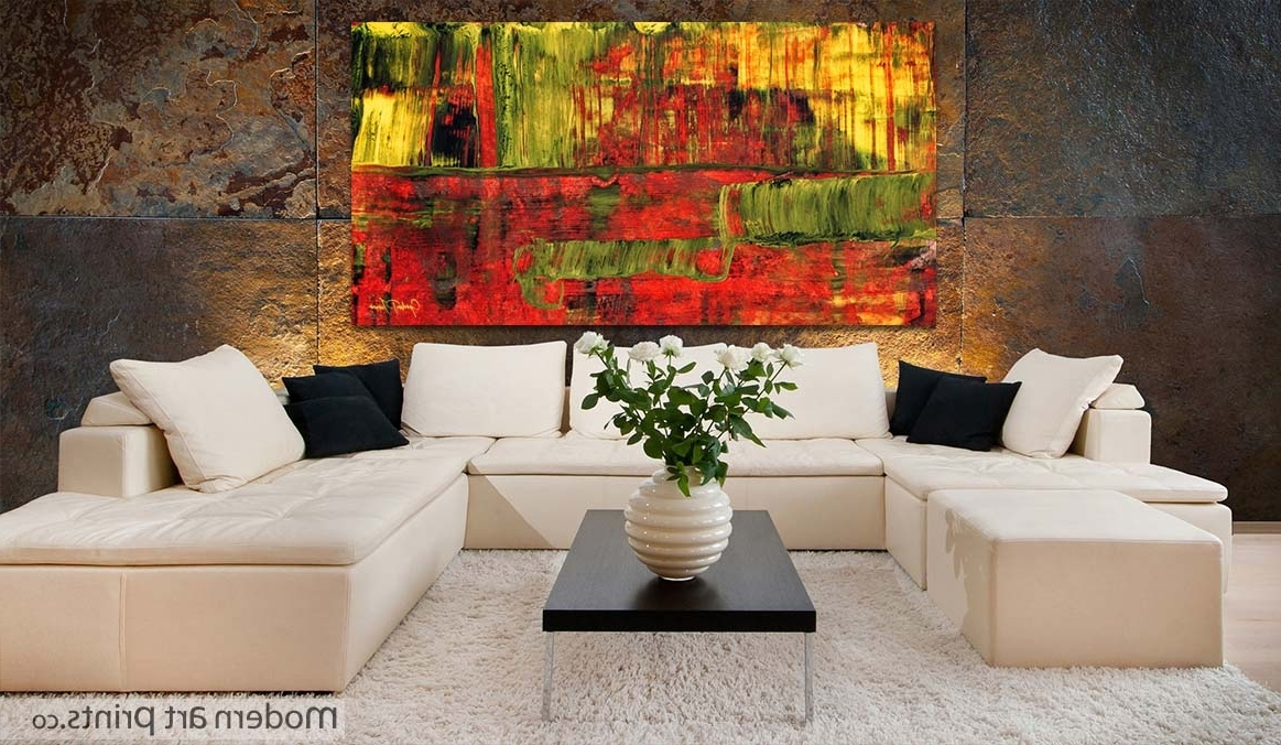 Abstract Wall Art For Dining Room Throughout Popular Fabulous Wall Art For Living Room Ideas Catchy Interior Design (View 6 of 15)
