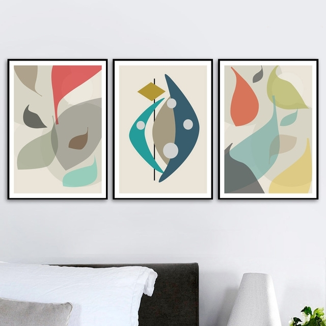 Abstract Wall Art Posters With 2017 Colorfulboy Flower Abstract Canvas Art Pop Art Posters And Prints (Gallery 5 of 15)