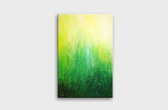 Abstract Wall Art, Wall Art Designs And Walls Intended For Lime Green Abstract Wall Art (Gallery 9 of 15)