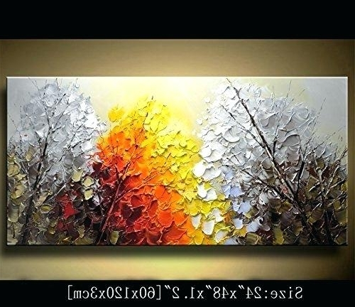 Acrylic Abstract Wall Art Within Newest Abstract Wall Art Art Abstract Acrylic Paintings On Canvas Modern (View 5 of 15)