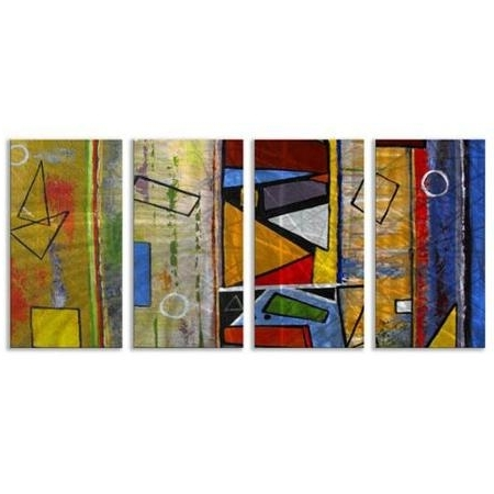 Affordable Abstract Wall Art In Most Popular Cheap Abstract Wall Art Metal, Find Abstract Wall Art Metal Deals On (View 3 of 15)