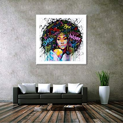 African American Wall Art For Preferred Amazon: Dolland Unframed African American Wall Art For (View 8 of 15)