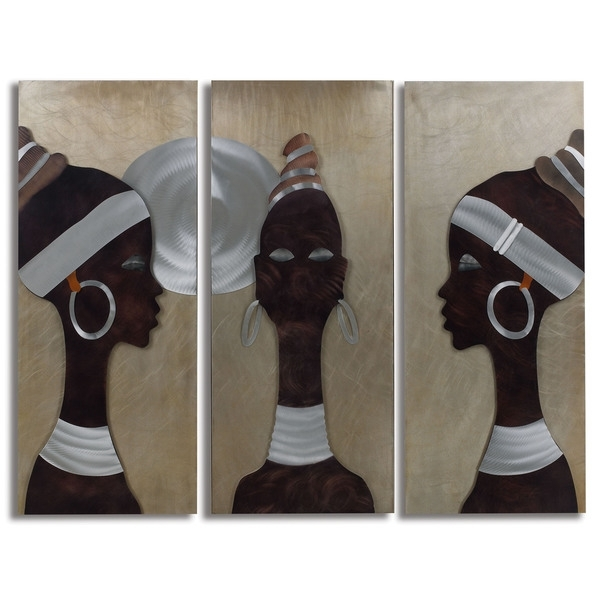 African Metal Wall Art Throughout Famous Wall Art Ideas Design : Combination African Metal Wall Art Themes (View 9 of 15)