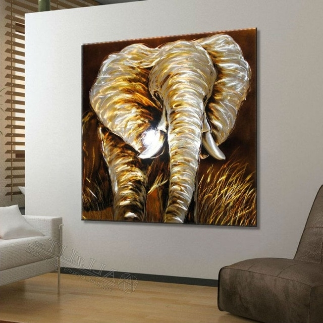"African Metal Wall Art With Best And Newest Modern Metal Wall Art Sculpture Paintings New Original ""african (View 3 of 15)"
