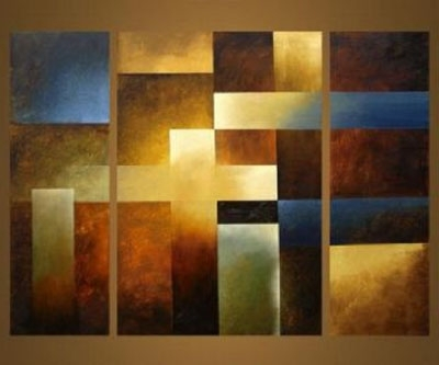 African Tribes Ii Modern Abstract Canvas Oil Painting Wall Art Throughout Latest Modern Abstract Wall Art Painting (View 12 of 15)