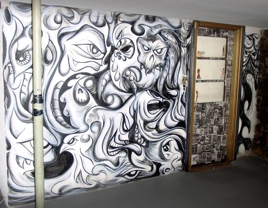 Airbrush Wall Art Throughout Latest Airbrush Muralindulgeinthis On Deviantart (View 7 of 15)