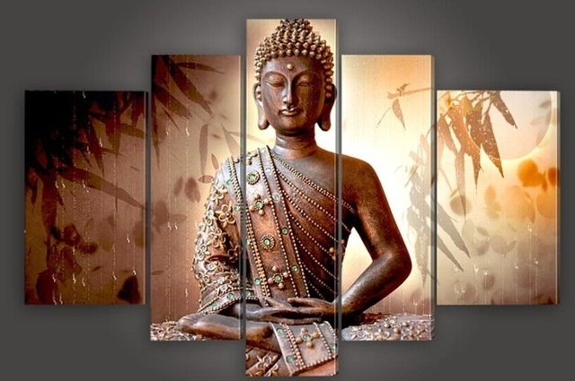 [%Aliexpress : Buy 100% Handmade Large Canvas Modern Thailand Inside Recent Large Buddha Wall Art|Large Buddha Wall Art Pertaining To Favorite Aliexpress : Buy 100% Handmade Large Canvas Modern Thailand|Recent Large Buddha Wall Art Within Aliexpress : Buy 100% Handmade Large Canvas Modern Thailand|Most Recent Aliexpress : Buy 100% Handmade Large Canvas Modern Thailand Intended For Large Buddha Wall Art%] (View 7 of 15)