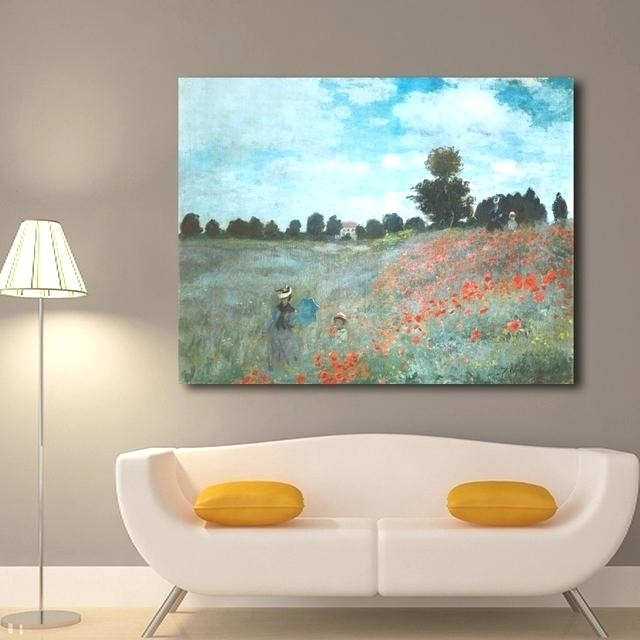 Amazing Country Canvas Art Image (View 3 of 15)