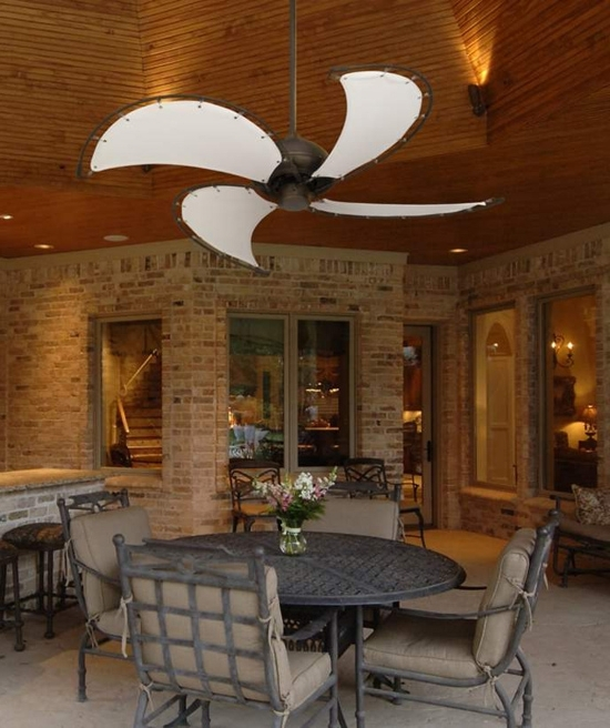 Amazing Patio Ceiling Fans Exterior Remodel Images Best Outdoor With Trendy Outdoor Patio Ceiling Fans With Lights (View 2 of 15)