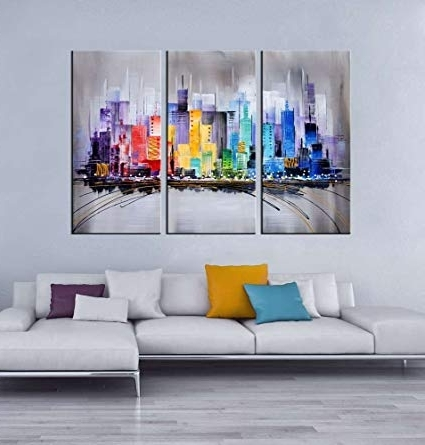 [%Amazon: Artland Modern 100% Hand Painted Framed Wall Art In Newest 3 Piece Abstract Wall Art|3 Piece Abstract Wall Art In Well Known Amazon: Artland Modern 100% Hand Painted Framed Wall Art|Current 3 Piece Abstract Wall Art Regarding Amazon: Artland Modern 100% Hand Painted Framed Wall Art|Most Up To Date Amazon: Artland Modern 100% Hand Painted Framed Wall Art Inside 3 Piece Abstract Wall Art%] (View 10 of 15)