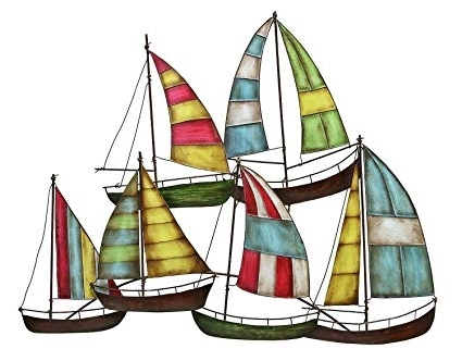 Featured Photo of Sailboat Metal Wall Art