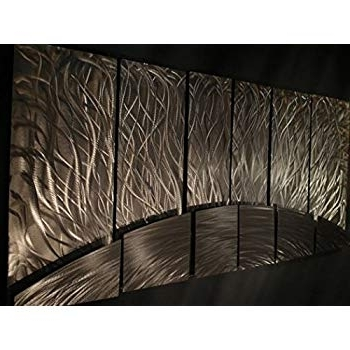 Amazon: Contemporary Metal Wall Art. Wall Sculpturesash Carl With Famous Ash Carl Metal Art (Gallery 11 of 15)