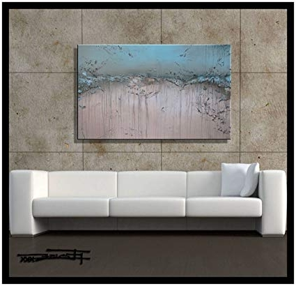 Amazon: Modern Abstract Canvas Wall Art (View 6 of 15)
