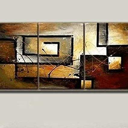 [%Amazon: Mon Art 100% Hand Painted Oil Painting Abstract Art For Well Known Large Modern Wall Art|Large Modern Wall Art With Well Known Amazon: Mon Art 100% Hand Painted Oil Painting Abstract Art|Best And Newest Large Modern Wall Art For Amazon: Mon Art 100% Hand Painted Oil Painting Abstract Art|Fashionable Amazon: Mon Art 100% Hand Painted Oil Painting Abstract Art Within Large Modern Wall Art%] (View 10 of 15)