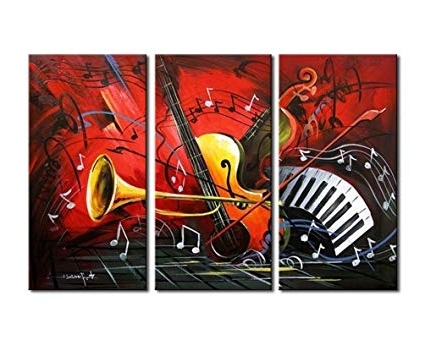 [%Amazon: Noah Art Modern Music Wall Art, 100% Hand Painted Intended For Most Recent Abstract Musical Notes Piano Jazz Wall Artwork|Abstract Musical Notes Piano Jazz Wall Artwork Regarding Widely Used Amazon: Noah Art Modern Music Wall Art, 100% Hand Painted|2017 Abstract Musical Notes Piano Jazz Wall Artwork In Amazon: Noah Art Modern Music Wall Art, 100% Hand Painted|Preferred Amazon: Noah Art Modern Music Wall Art, 100% Hand Painted Inside Abstract Musical Notes Piano Jazz Wall Artwork%] (View 8 of 15)