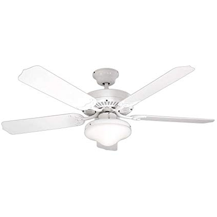 Amazon Outdoor Ceiling Fans With Lights In Most Popular Litex E Wod52Ww5C All Weather Collection 52 Inch Indoor/outdoor (View 7 of 15)