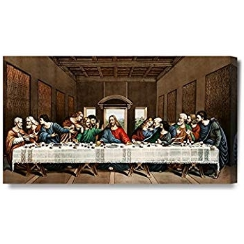 Amazon: Sls Vision. Last Supper. 83 X 28 Inches (View 1 of 15)