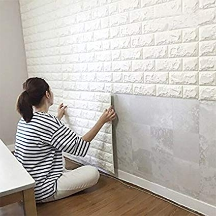 Amazon: Wall Stickers 20Pcswall Home Decor Products, 3D Srickers Intended For Popular Bangalore 3D Wall Art (View 15 of 15)