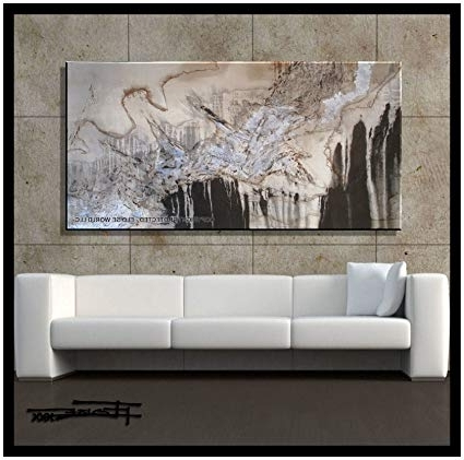 """Amazon: Xl Modern Canvas Wall Art – """"emerging Eagle"""" Limited Within Preferred Limited Edition Wall Art (View 1 of 15)"""