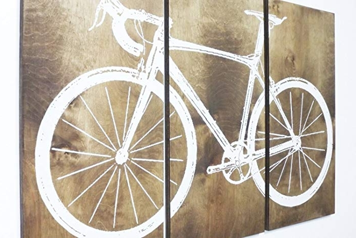 Amazon: Xl Road Bike / Street Bike Wall Art / Bicycle Screen Throughout Current Bike Wall Art (Gallery 5 of 15)
