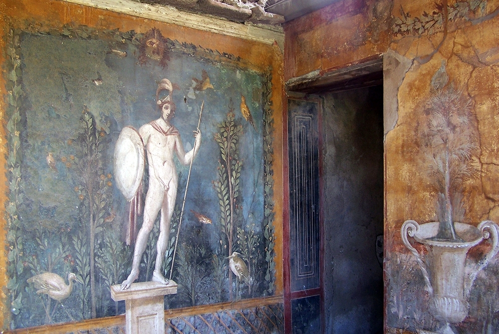 Ancient Greek Wall Art With Current Roman Wall Painting Styles (Article) (Gallery 9 of 15)