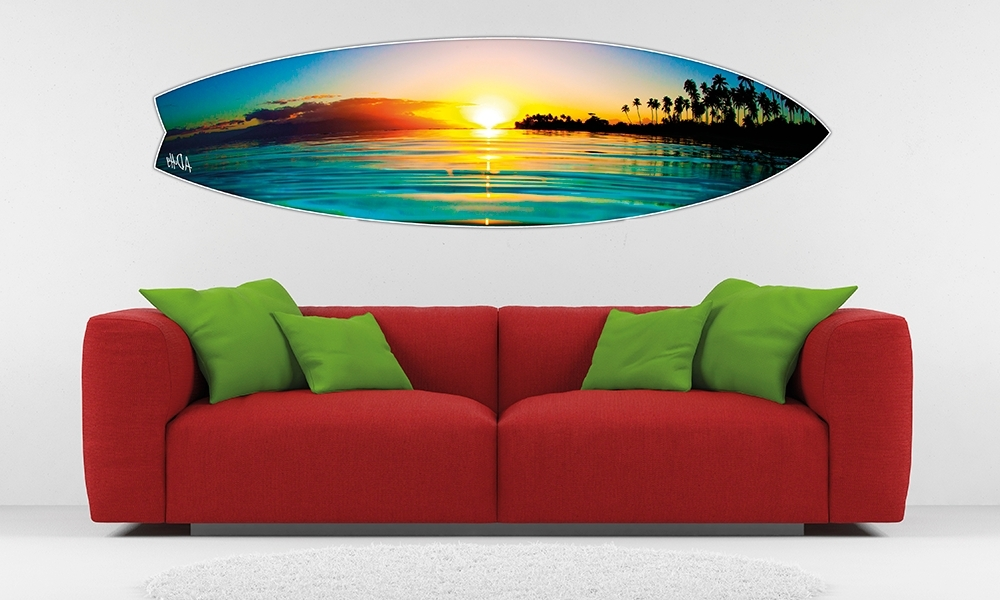 Appealing Surfboard Wall Art (View 2 of 15)