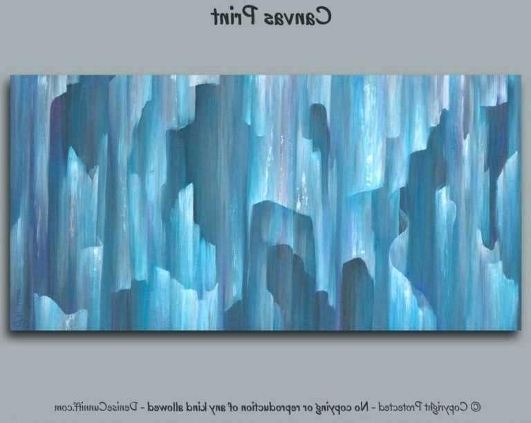 Aqua Abstract Wall Art In Most Current Aqua Wall Art Blue Canvas Wall Art Best Of Teal Aqua Grey Blue (View 5 of 15)