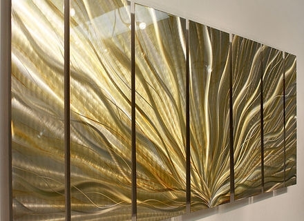 Art Deco Metal Wall Art For Well Known 43 Gold Metal Wall Art, Large Wall Mountable Gold Metal Butterfly (View 11 of 15)