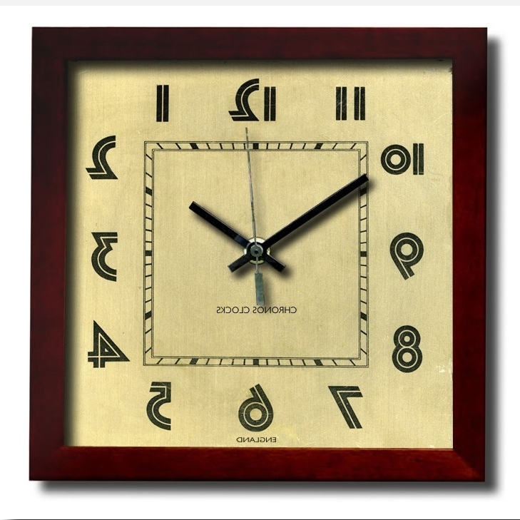 Art Deco Wall Clocks Intended For Most Recently Released Wall Decoration (View 5 of 15)