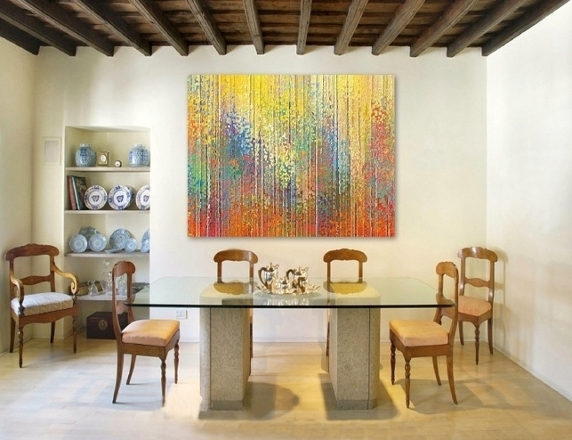 Art For Dining Room Wall – Cheekybeaglestudios For Most Recently Released Dining Wall Art (View 10 of 15)