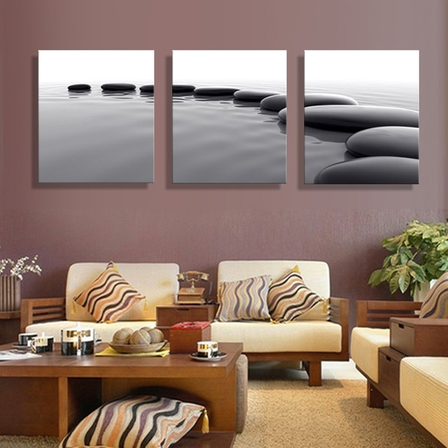 Art Pebbles Definition Pictures Canvas Prints Home Decoration Living Within Favorite Wall Pictures For Living Room (View 4 of 15)