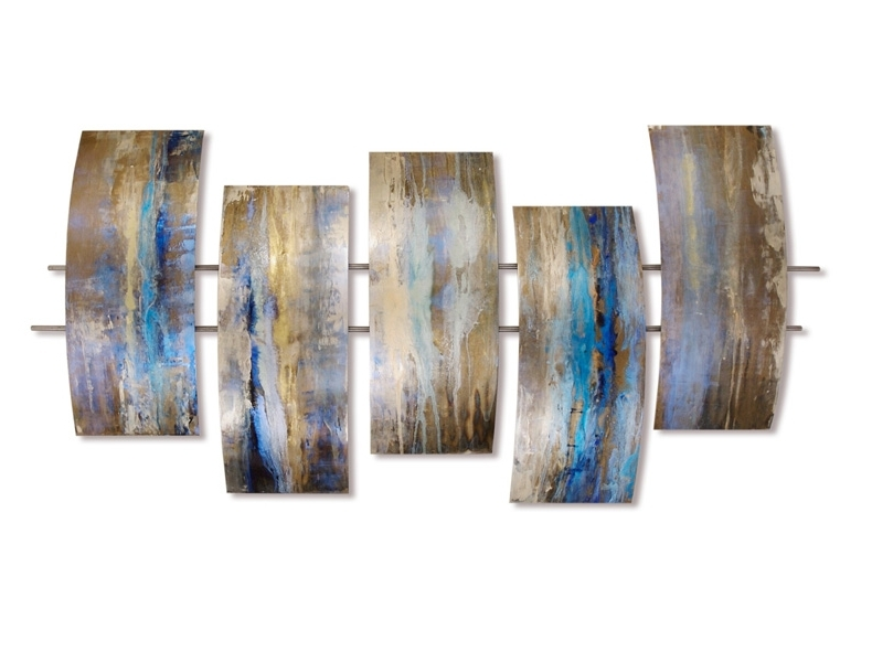 Artisan House Metal Wall Art Pertaining To Well Known Artisan House Tidepools Wall Art (View 14 of 15)