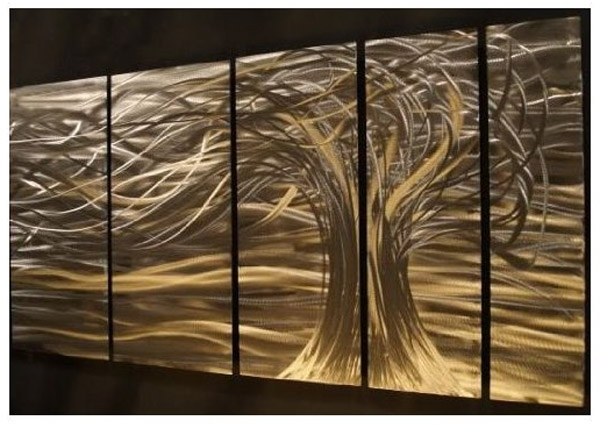 Ash Carl Metal Art Throughout Most Recently Released Artwork : Contemporary Metal Wall Art (View 6 of 15)