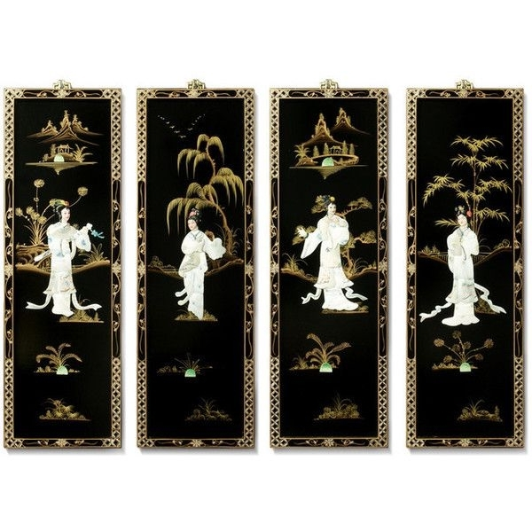 Asian Wall Art Panels With Regard To Most Current Asian Wall Art Asian Wall Decor Iron Wall Decor – Rfequilibrium (View 8 of 15)