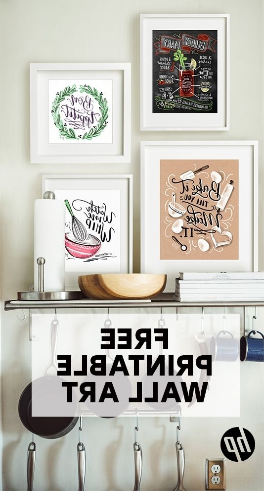 Astonishing Best Kitchen Wall Art Ideas On Pinterest In Art For Regarding Famous Wall Art For Kitchens (View 8 of 15)