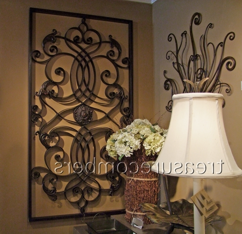 Astounding Inspiration Tuscan Metal Wall Art Small Home Decoration For Current Tuscan Wrought Iron Wall Art (View 5 of 15)