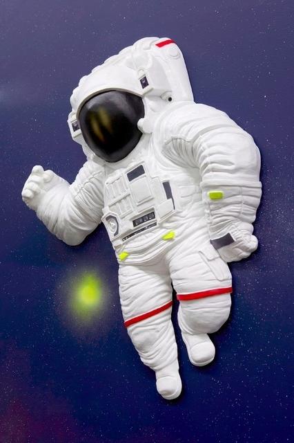 Astronaut 3D Wall Art With Regard To Trendy 3D Astronaut Wall Decor Fresh 3D Wall Art Astronaut Eclectic Kids (View 4 of 15)