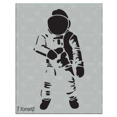Astronomy & Space – Stencils – Craft & Art Supplies – The Home Depot Pertaining To Famous Space Stencils For Walls (Gallery 2 of 15)