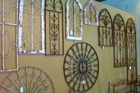 Attractive Garden Wall Decor Wrought Iron 1000 Images About Iron Within Famous Wrought Iron Garden Wall Art (Gallery 1 of 15)