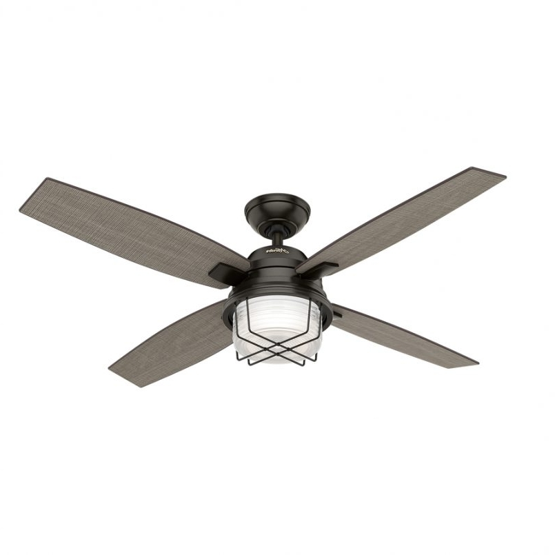 Awesome Lowes Ceiling Fan Light Kit At Hunter Fans Modern Low In Recent Outdoor Ceiling Fans With Lights At Lowes (View 1 of 15)