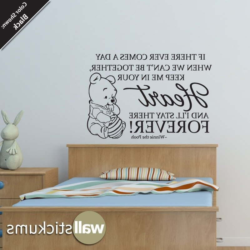 Baby Winnie The Pooh Wall Stickers (View 13 of 15)