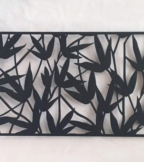 Bamboo Metal Wall Art For 2017 Garden Screens – 1200Mm X 600Mm X 20Mm Modular Metal Panels – The (View 2 of 15)
