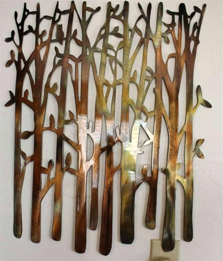 Bamboo Metal Wall Art Inside Famous Bamboo Metal Wall Art Birch Tree Wall Art Lovely Birch Tree Birch (View 3 of 15)
