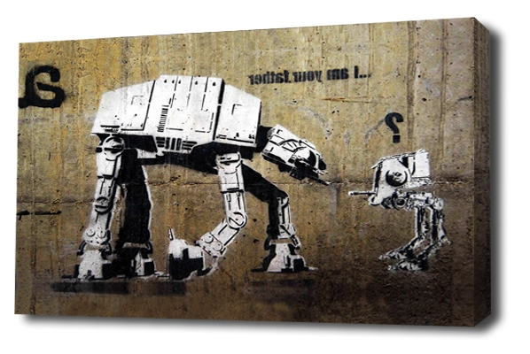 Banksy Canvas Wall Art Throughout Most Current Banksy Canvas Wall Art Picture Prints, There Is Always Hope Balloon Girl (View 12 of 15)