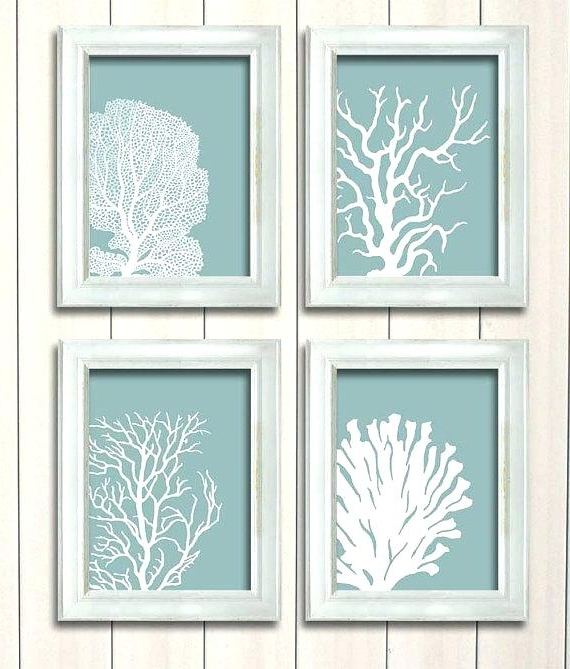 Bathroom Art Stupendous Beach House Wall Decor Layout Design – Dfyitscv Within Most Recently Released Beach Cottage Wall Art (View 15 of 15)