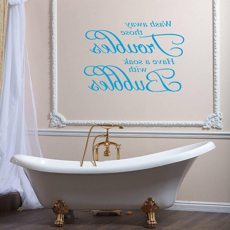 Bathroom Wall Hangings With Trendy Bathroom Wall Art Ideas Decor : Top Bathroom – Beautiful Bathroom (View 5 of 15)