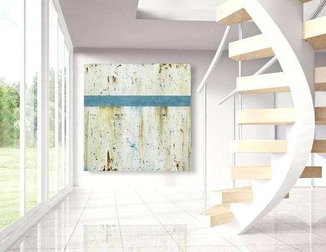 Beach Cottage Wall Art Regarding Favorite Large Wall Art Modern Beach House Decor Beach Style Beachy Canvas (View 11 of 15)