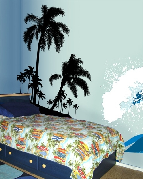 Beach Theme Wall Art Pertaining To Most Up To Date Stunning Beach Wall Decals – Wall Decoration And Wall Art Ideas (View 14 of 15)